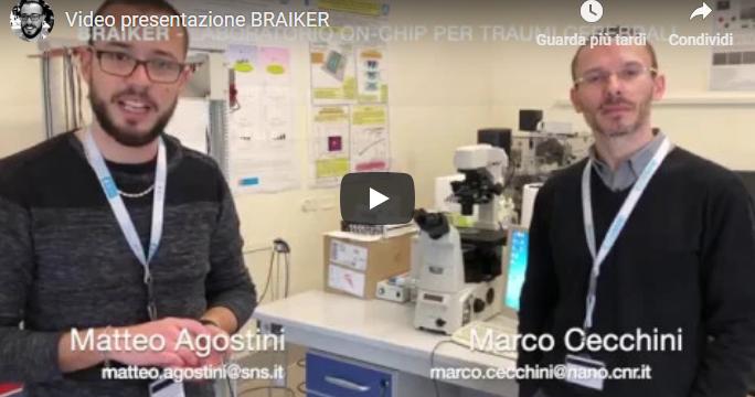 BRAIKER video presentation for InnovationVillage 2019