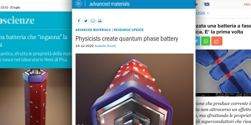 """Press review of """"A Josephson phase battery"""""""