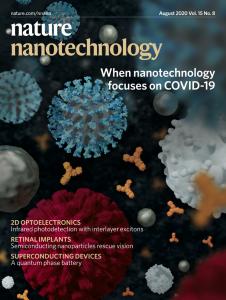 Josephson phase battery Nature Nanotechnology cover